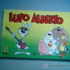 Tebeos: LOBO ALBERTO (LUPO ALBERTO) Nº 5 TIRA COMICA EDICIONES B 1989 DIBUJOS SILVER. Lote 25736744