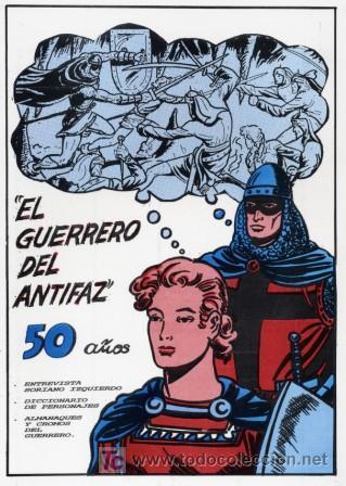 EL GUERRERO DEL ANTIFAZ (50 AÑOS) SUPLEMENTO MAESTROS DE LA HISTORIETA (Tebeos y Comics - Tebeos Reediciones)