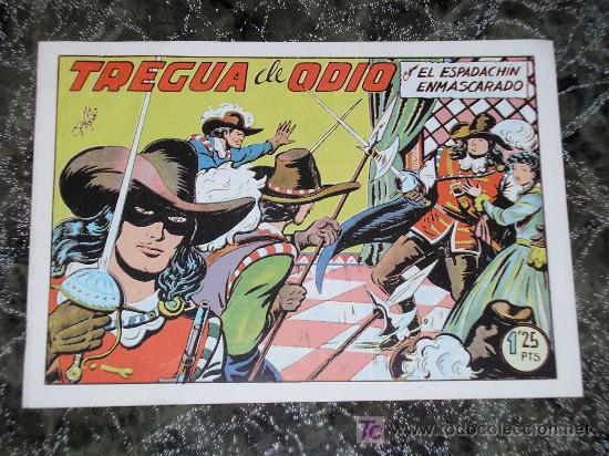 EL ESPADACHIN ENMASCARADO TREGUA DE ODIO - EDITORIAL VALENCIANA - NUEVO (Tebeos y Comics - Tebeos Reediciones)