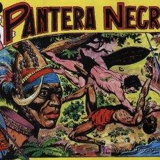 Pantera Negra - 54 Ejemplares - Colección Completa, Reedición - Ed. Maga 1956