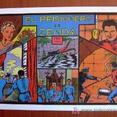 Tebeos: GRANDES AVENTURAS Y PELICULAS - EL PRISIONERO DE ZENDA - EDICIÓN FASCIMIL. Lote 7941847