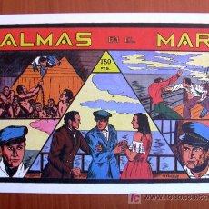 Tebeos: GRANDES AVENTURAS Y PELICULAS - ALMAS EN EL MAR - EDICIÓN FASCIMIL. Lote 7941861