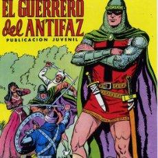 Tebeos: EL GUERRERO DEL ANTIFAZ - 343 EJEMPLARES (COLECCIÓN COMPLETA, REEDICIÓN) - ED. VALENCIANA 1972. Lote 25889025
