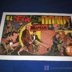 Giornalini: MERLIN EL MAGO MODERNO - EL FIN DEL DOMO - REEDICIONES. Lote 9056896