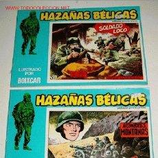 Tebeos: LOTE DE 2 COMICS HAZAÑAS BELICAS - ILUSTRADO POR BOIXCAR - NUMERO 115 - 79 - REEDICION.. Lote 2105187