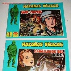Tebeos: LOTE DE 2 COMICS HAZAÑAS BELICAS - ILUSTRADO POR BOIXCAR - NUMERO 16-15 - REEDICION.. Lote 2105226