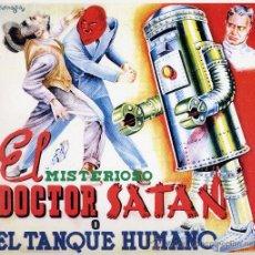 Tebeos: EL MISTERIOSO DOCTOR SATÁN O EL TANQUE HUMANO (FACSÍMIL DE ÁLBUM DE CROMOS). Lote 17629436