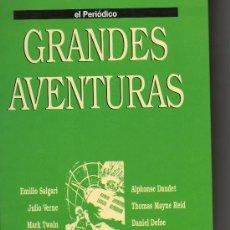 Tebeos: GRANDES AVENTURAS. TOMO 3. EMILIO SALGARI. JULIO VERNE. EL PERIÓDICO. COMIC. COMICS.. Lote 27064181