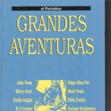 Tebeos: GRANDES AVENTURAS. TOMO 2. JULIO VERNE. EMILIO SALGARI. WALTER SCOTT. EL PERIÓDICO. COMIC. COMICS.. Lote 27064173