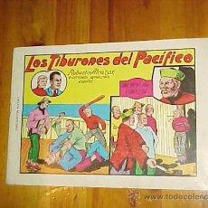 Tebeos: ROBERTO ALCAZAR: LOS TIBURONES DEL PACIFICO. EDITORA VALENCIANA 1981 *. Lote 11227396