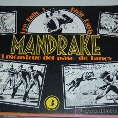 Tebeos: MANDRAKE EL MAGO NÚMERO 3. REEDICIÓN ESPAÑOLA DE 1981. Lote 27439763