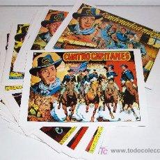 Tebeos: CUATRO CAPITANES, COMPLETA 33 NÚMEROS - . Lote 27262574