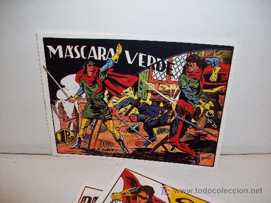 LA MASCARA VERDE, COMPLETA 15 TEBEOS (Tebeos y Comics - Tebeos Reediciones)