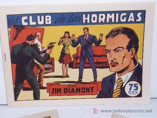 JIM DIAMONT ,COMPLETA 23 NÚMEROS, (18 TEBEOS DE LA ED. ORIGINAL MÁS 5 INÉDITOS) (Tebeos y Comics - Tebeos Reediciones)