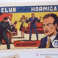 Tebeos: JIM DIAMONT ,COMPLETA 23 NÚMEROS, (18 TEBEOS DE LA ED. ORIGINAL MÁS 5 INÉDITOS). Lote 26480138