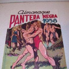 Editorial MAGA: Almanaque PANTERA NEGRA para 1.958 (facsímil)