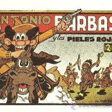 Tebeos: ANTONIO BARBAS LOS TRES NUMEROS COLECCION ( REEDICION ). Lote 18940656