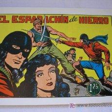 Tebeos: EL ESPADACHIN DE HIERRO, M.GAGO. COMPLETA 9 EJEMPLARES. REEDICIÓN. Lote 162673950