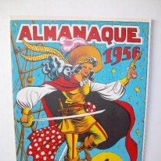 Tebeos: EDITORIAL GRAFIDEA: ALMANAQUE LA CAPITANA 1.956. Lote 25675883