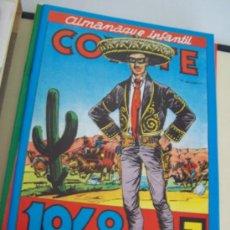 Tebeos: EL COYOTE, 48 TEBEOS (1/48) EN DOS CARPETAS.- EDICIÓN, FACSIMIL. Lote 15335707