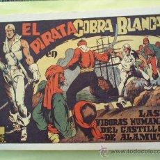 Tebeos: EL PIRATA COBRA BLANCA , COLECCION COMPLETA 12 NUMEROS , REEDICION MUY BUENA. Lote 23820996