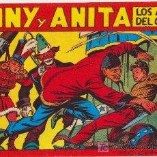 Tebeos: TONY Y ANITA. REEDICIÓN. COMPLETA (153 EJEMPLARES). Lote 24365159