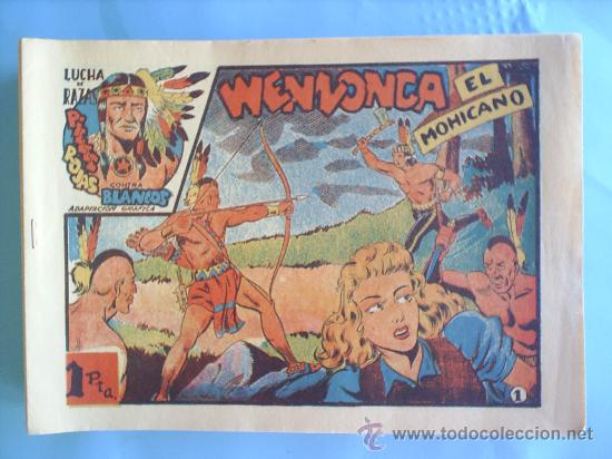 LUCHA DE RAZAS , COMPLETA 60 NUMEROS, . LAS TRES AVENTURAS , , REEDICION FASCIMIL (Tebeos y Comics - Tebeos Reediciones)