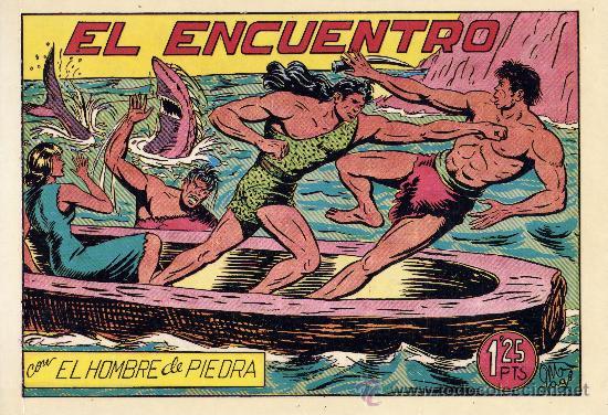 PURK EL HOMBRE DE PIEDRA. TOMO 5 J.L.A. CONTIENE 8 CUADERNILLOS. DIBUJOS: MANUEL GAGO (Tebeos y Comics - Tebeos Reediciones)
