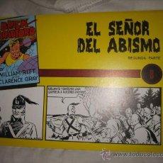 Tebeos: BRICK BRADFORD Nº 8 EL SEÑOR DEL ABISMO. Lote 25261076