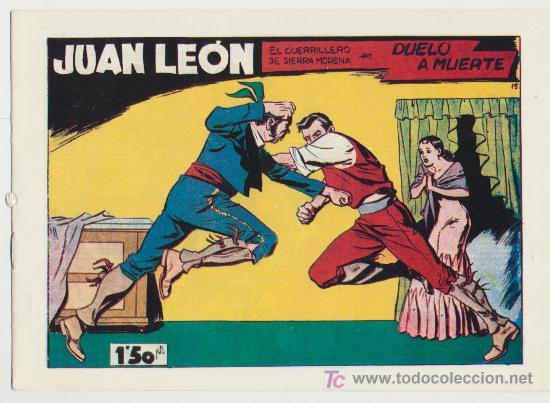 JUAN LEÓN Nº 15. REEDICIÓN. (Tebeos y Comics - Tebeos Reediciones)
