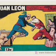 Tebeos: JUAN LEÓN Nº 15. REEDICIÓN.. Lote 18557690