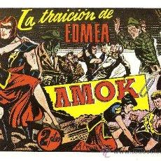Tebeos: AMOK Nº 13 LA TRAICION DE EDMEA (REEDICION). Lote 18963960