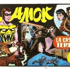 Tebeos: AMOK Nº 14 LA CASA DEL TERROR (REEDICION). Lote 18963995