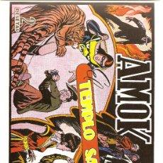 Tebeos: AMOK Nº 8 EL TEMPLO SAGRADO (REEDICION). Lote 18964059