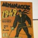 Tebeos: EL JINETE FANTASMA ALMANAQUE AÑO 1949 REEDICION. Lote 165041058