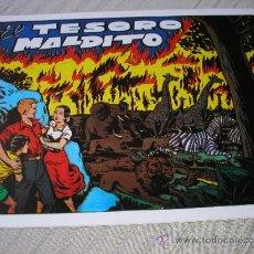Tebeos: CHISPITA IV AVENTURA, Nº 18. EL TESORO MALDITO, AMBRÓS, 21X32. Lote 180089412
