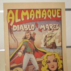 Tebeos: ALMANAQUE DIABLO DE LOS MARES AÑO 1948 - REEDICION. Lote 205297951