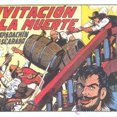 Tebeos: COMIC EDICIÓN FACSIMIL - INVITACION A LA MUERTE -EL ESPADACHIN ENMASCARADO. Lote 24798461