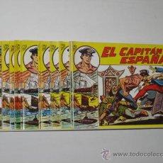 Tebeos: EL CAPITAN ESPAÑA COMPLETA 32 NUM. + ESTUCHE - M. GAGO - REEDICION OFERTA (ANTES 80,00 €). Lote 194380720