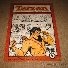 Tebeos: TARZAN Nº 4 POR BURNE HOGARTH PAGINAS DOMINICALES DE 1939 . GRANDES CLASICOS DEL COMIC DEL PASADO . Lote 27406368