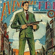 Tebeos: AVENTURAS DEL FBI EXTRAORDINARIO, REEDICION FACSIMIL, COMPLETA, 6 ALBUMS . Lote 25432853
