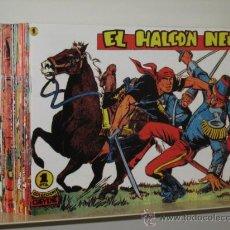 Tebeos: EL HALCON NEGRO COMPLETA 28 NUM. REEDICION OFERTA (ANTE 70,00 €). Lote 194384781