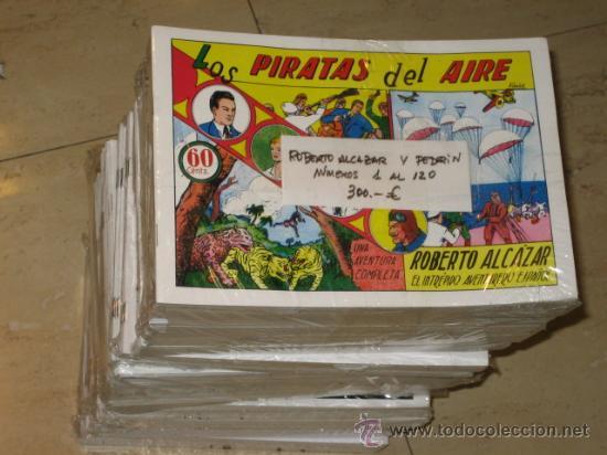 ROBERTO ALCAZAR Y PEDRIN Nº 1 AL 500 - REEDICION DISPONIBLE TAMBIEN TODA LA COLECCION OFERTA (Tebeos y Comics - Tebeos Reediciones)