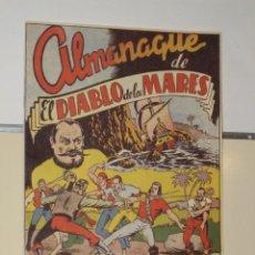Tebeos: ALMANAQUE EL DIABLO DE LOS MARES AÑO 1949 REEDICION. Lote 205297853