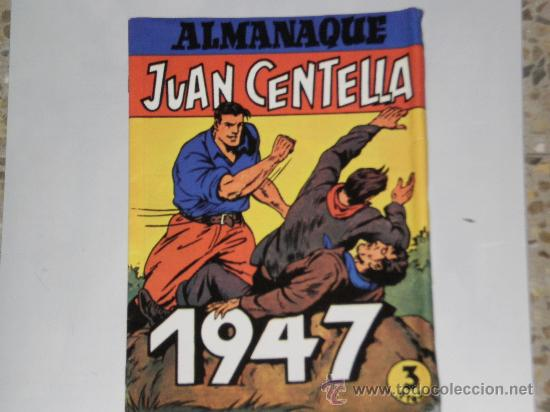 ALMANAQUE 1947. JUAN CENTELLA - JORGE Y FERNANDO . FACSIMIL (Tebeos y Comics - Tebeos Reediciones)
