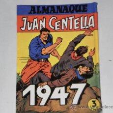 Tebeos: ALMANAQUE 1947. JUAN CENTELLA - JORGE Y FERNANDO . FACSIMIL. Lote 28175355