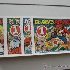 Tebeos: EL RAYO FANTASMA COMPLETA 4 NUM. REEDICION OFERTA (ANTES 16,00 €). Lote 194387221