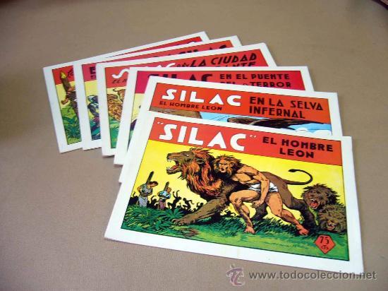 COMIC, SILAC, COLECCION COMPLETA, 8 NUMEROS, HEROES EDICIONES, REEDICION (Tebeos y Comics - Tebeos Reediciones)
