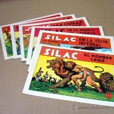 Tebeos: COMIC, SILAC, COLECCION COMPLETA, 8 NUMEROS, HEROES EDICIONES, REEDICION. Lote 28921104