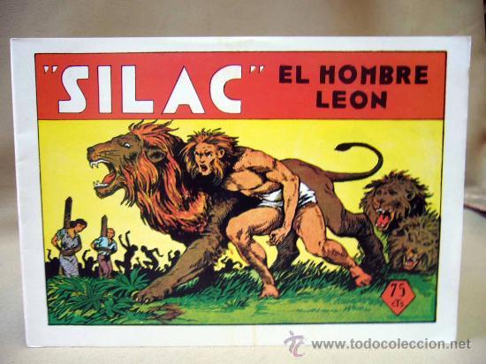 Tebeos: COMIC, SILAC, COLECCION COMPLETA, 8 NUMEROS, HEROES EDICIONES, REEDICION - Foto 2 - 28921104